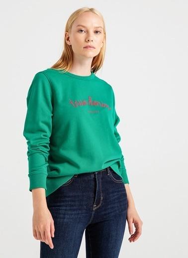 Mustang Sweatshirt Yeşil